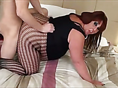Busty British Hooker doing her client