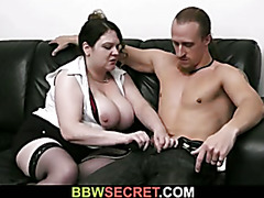 Fatty seduces him, while his wife left