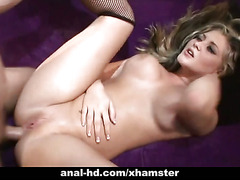 Blonde slut Bailey enjoys some anal shtupping