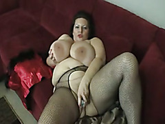 Maria Moore Fishnet Tights