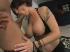 Busty, Tattoed and fucked by a BBC PA