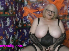 The Huge Tits Witch who turns tricks and treats