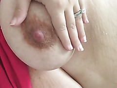 BBW with milk filled tits