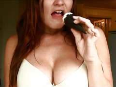 ASMR icecream breakfast