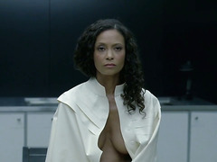 Tessa Thompson, Thandie Newton, Angela Sarafyan - WW S1E7