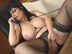 British Josephine James Talks Dirty On The Phone