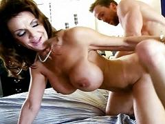 Deauxma and Kelly Madison share cock
