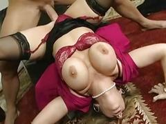 Classy MILF doctor screwed by a handsome patient