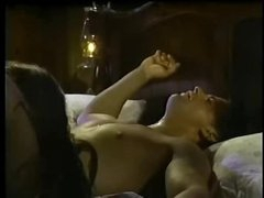 Christy Canyon in a romantic hardcore scene