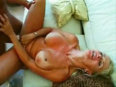 Busty blonde milf does it all for you