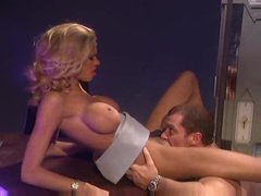 Briana Banks nailed in her lusty asshole