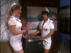 Naughty nurse gives body to patient